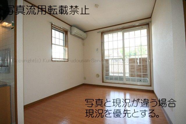 物件番号: 1025101252 カントリーサイド  日田市田島2丁目 2LDK ハイツ 画像1