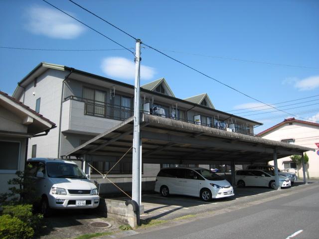 物件番号: 1025104386 第一クローバーハウス  日田市田島2丁目 2LDK コーポ 外観画像