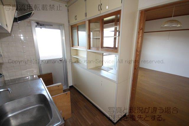 物件番号: 1025101935 コーポなかの2  日田市南元町 3K マンション 画像2