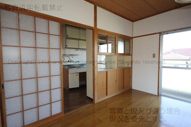 物件番号: 1025101935 コーポなかの2  日田市南元町 3K マンション 画像3