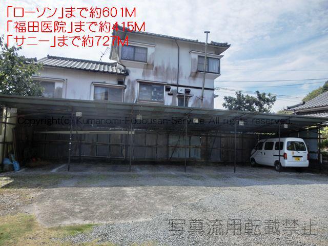 物件番号: 1025103945 ながのアパート  日田市吹上町 3DK アパート 画像1