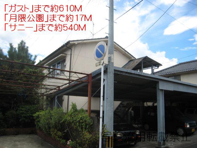 物件番号: 1025101335  日田市丸山1丁目 2K アパート 外観画像