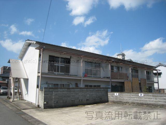物件番号: 1025100951 ひだか荘  日田市田島2丁目 2K アパート 外観画像