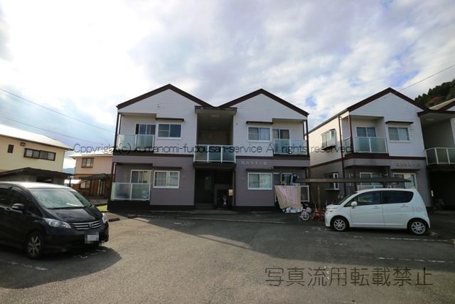 物件番号: 1025104422 Gハウス B棟  日田市吹上町 3LDK コーポ 外観画像