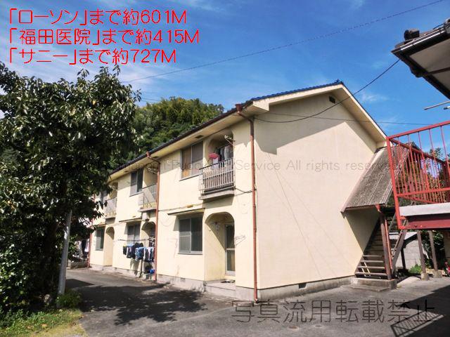 物件番号: 1025103945 ながのアパート  日田市吹上町 3DK アパート 外観画像