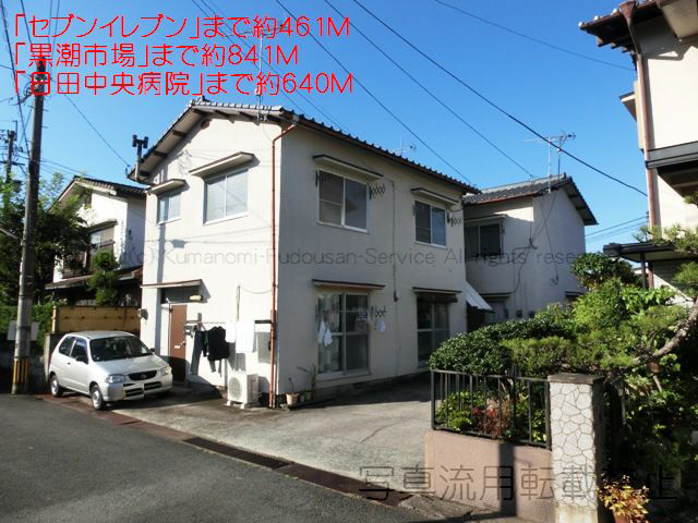 物件番号: 1025103060 田中アパート  日田市三本松新町 2DK アパート 外観画像